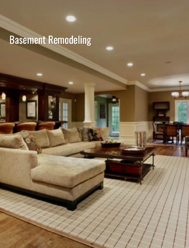 basements, finishing, remodel, renovate