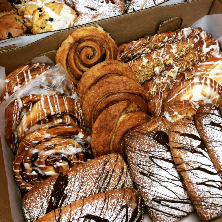 For a delicious variety of pastries come to CBC Bakery in Petaluma, CA