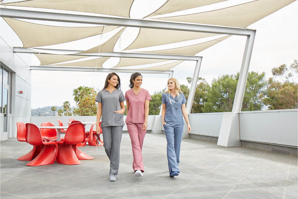 choices scrubs and footwear healthcare professionals