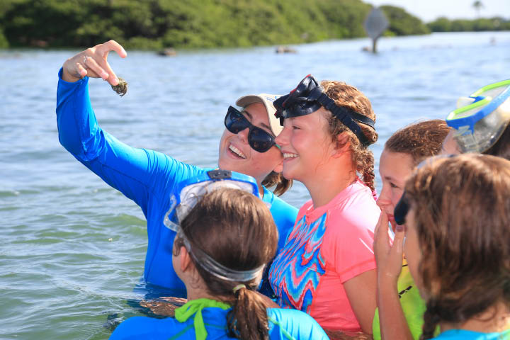 CLEARWATER MARINE SUMMER CAMP LEARNING PHOTO
