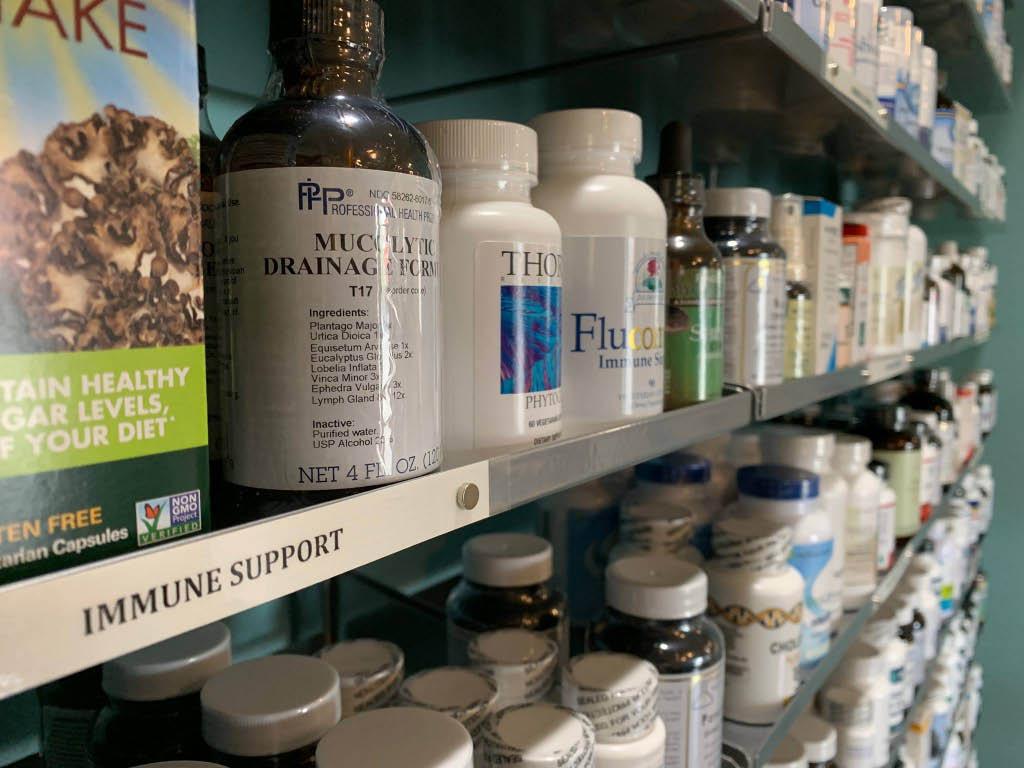 Inside CMC Health Store in Kirkland, Washington - vitamins store - supplements store - herbal medicine - Kirkland vitamin stores near me