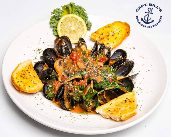 mussels oysters wings sandwiches subs salads soups