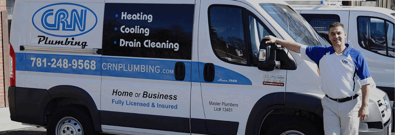 CRN Plumbing and Heating services and repair.  Wakefield, MA.