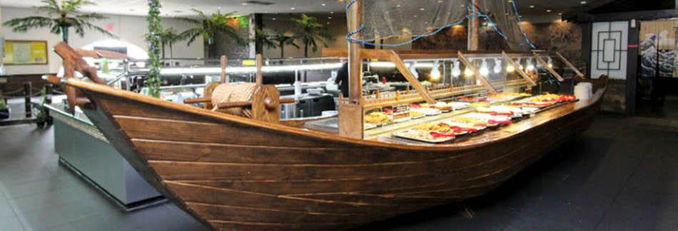 Boat at Captain Ray's Buffet & Sushi