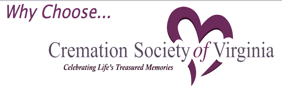 Cremation Society of Virginia banner