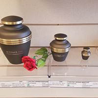 Cremation urns at Cremation Society of Virginia