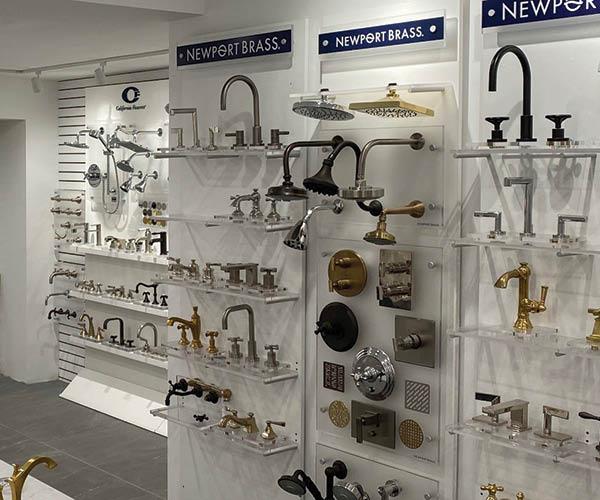 Newport Brass decorative plumbing fixtures