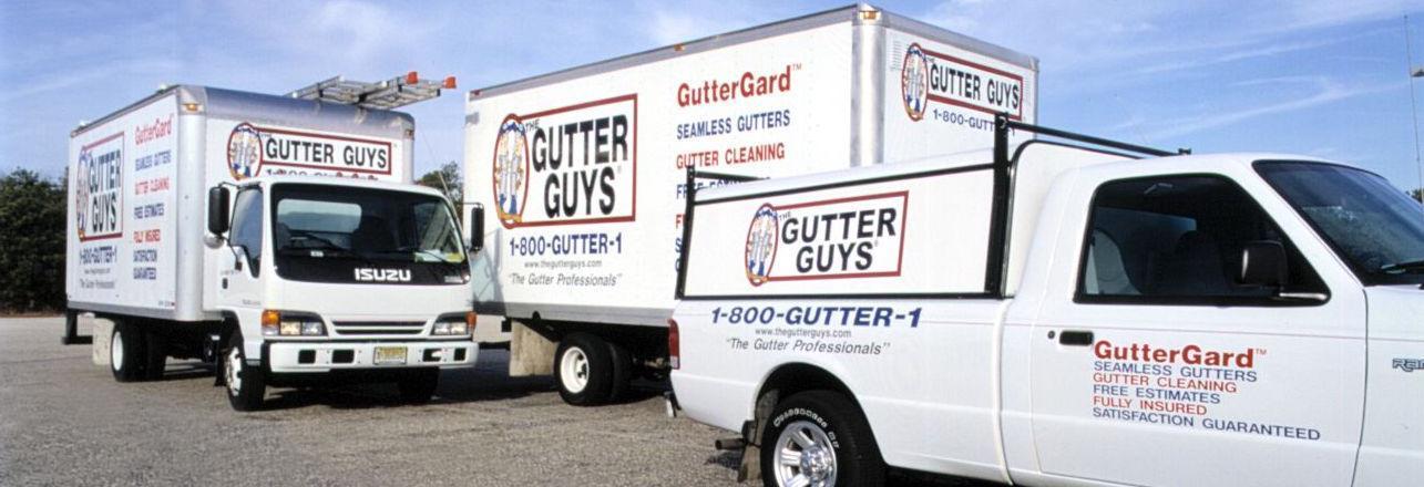 The Gutter Guys in Egg Harbor Twp., NJ banner