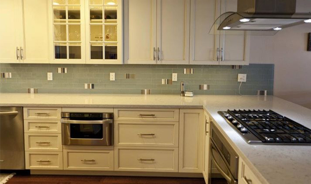 We offer kitchen and bathroom remodeling services