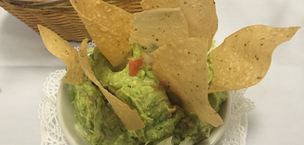Cacique Fine Spanish & Mexican Cuisine in frederick, md guacamole dip