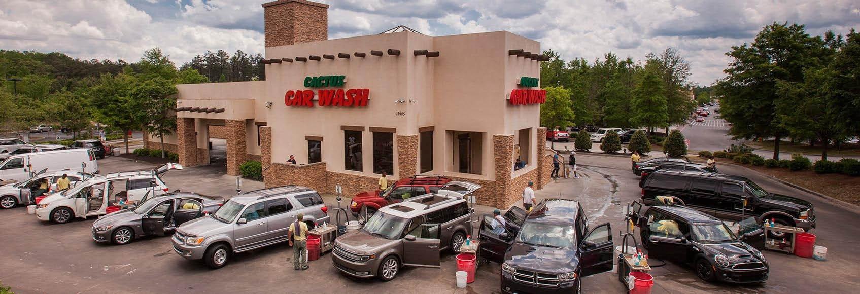 Cactus Car Wash in Marietta, GA Banner ad