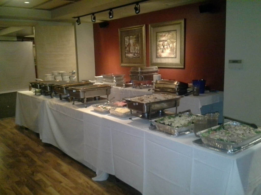 Cafe La Bellitalia offers catering services for your next family party