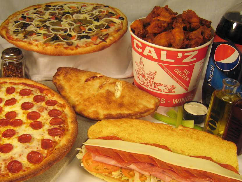 Cal'z homemade fresh Italian pizzas and subs