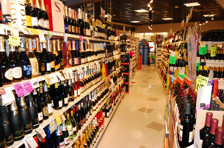Inside Campus West Liquors in Fort Collins, Colorado