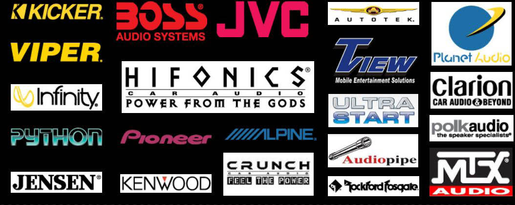Car audio systems, installation services