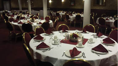 Newly Renovated Banquet Room at The Canal House in Wharton NJ