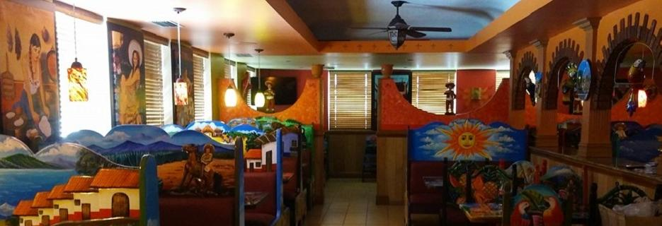 photo of interior of Cancun Mexican Restaurant in Fenton, MI