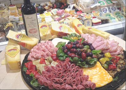 photo of deli department at Cantoro Italian Market in Plymouth, MI