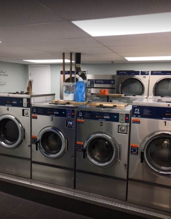 Brand new stainless steel washing machines in Manhattan