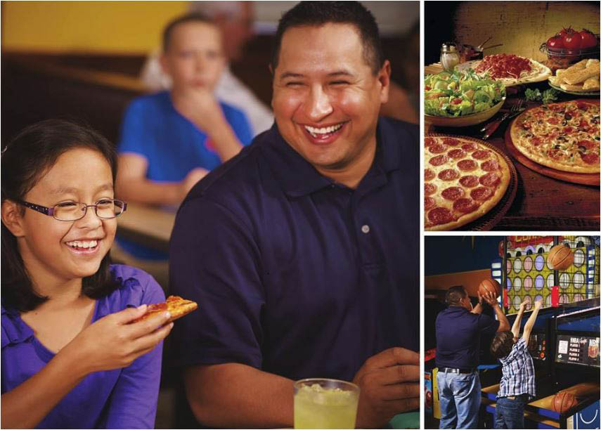all you can eat buffet, pizza, salad, dessert, arcade, ; north richland hills, tx