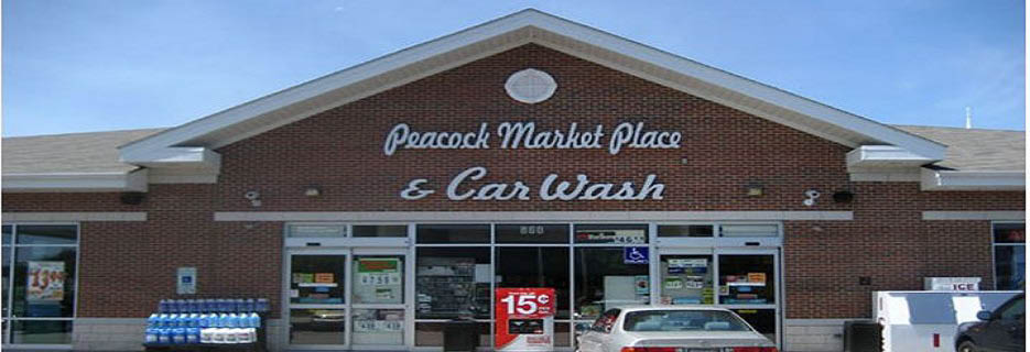 Peacock Marketplace and Car Wash in Vernon Hills, IL banner
