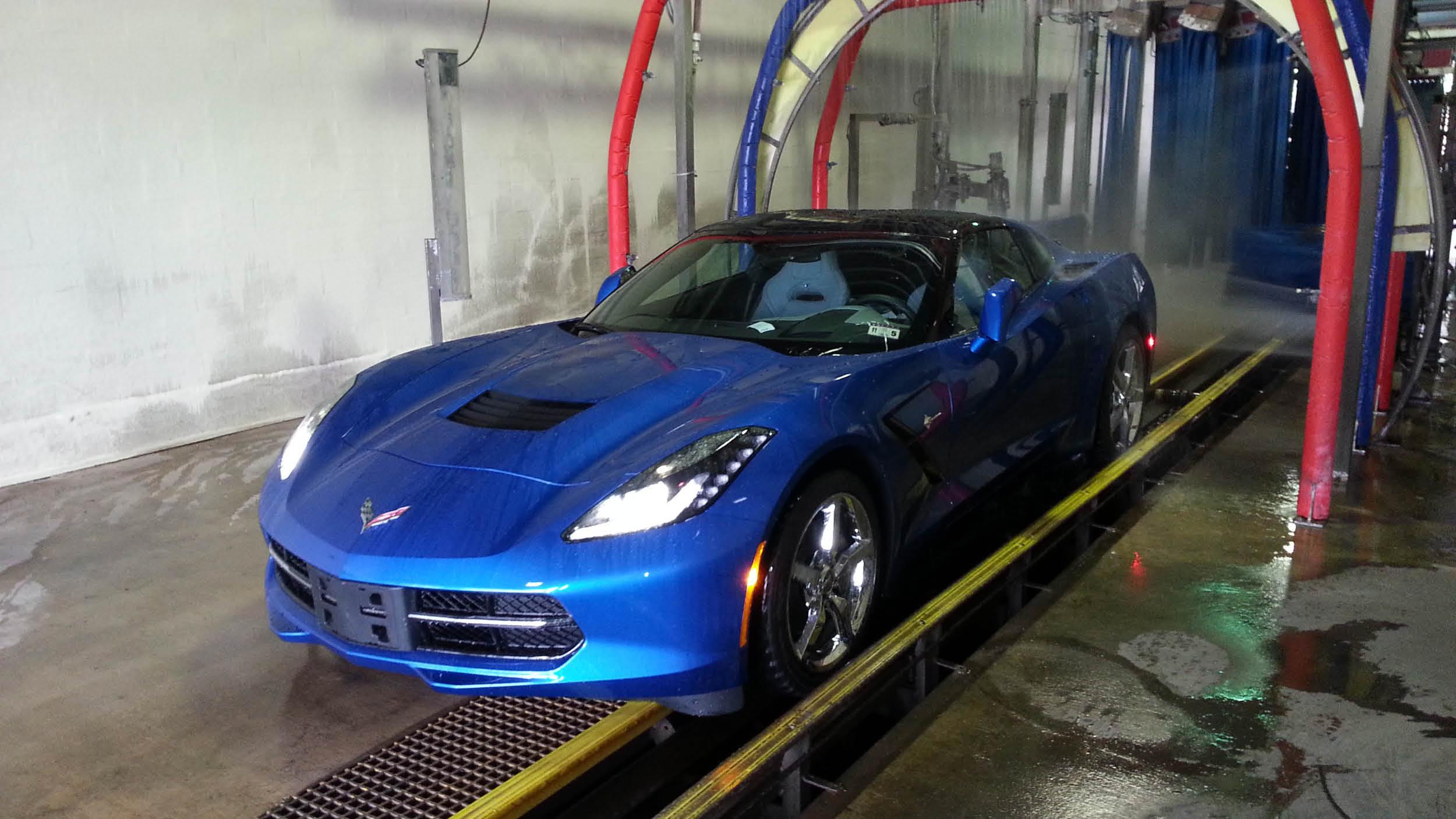 Car Wash Company Corvette Wash