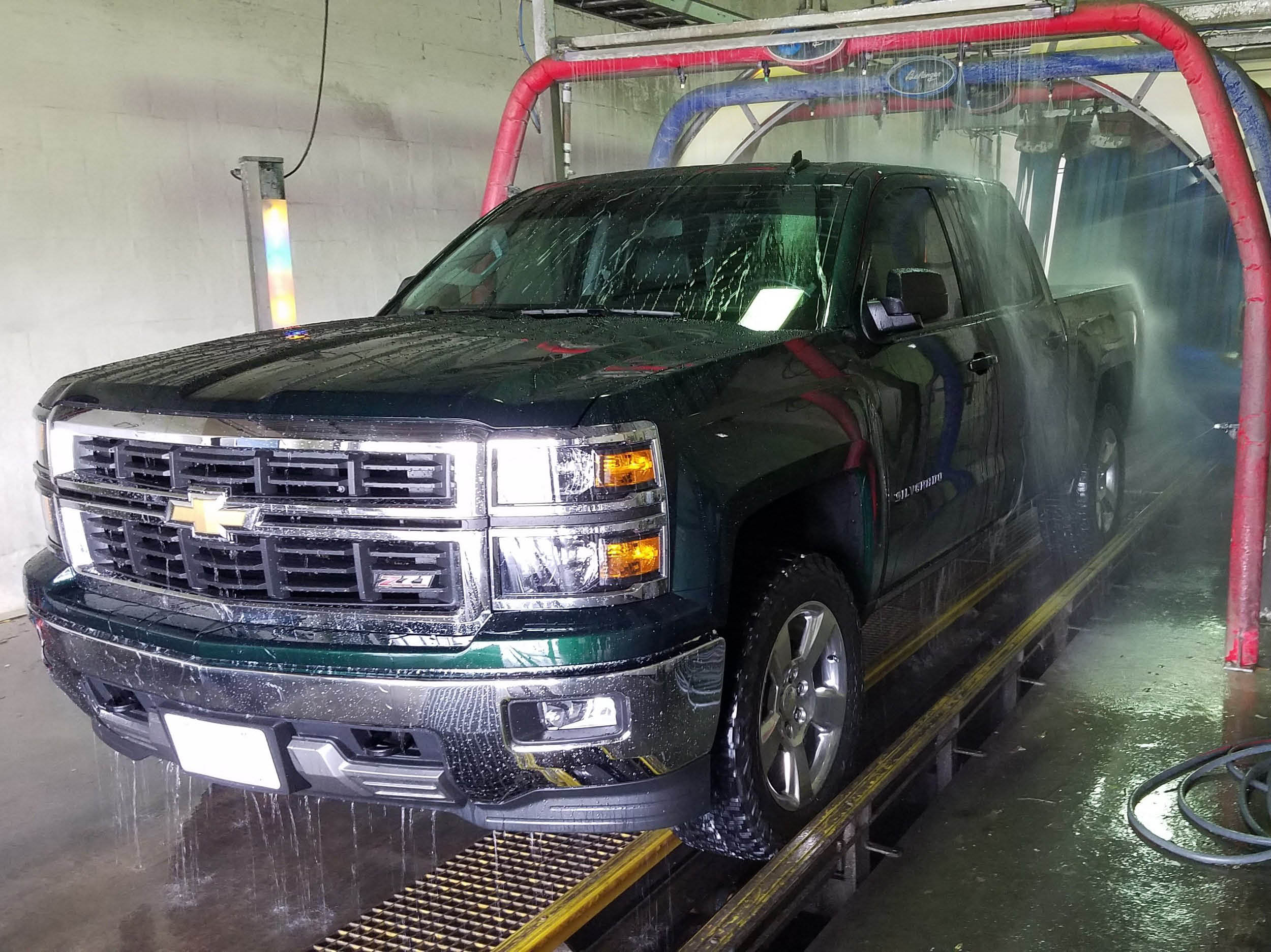Car Wash Company Truck Wash