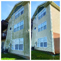 Exterior window cleaning service Asheville