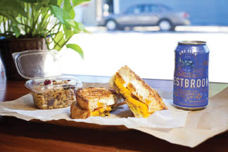 Gourmet sandwiches and craft beer specials in Ladson