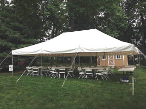 Party and Event Tents available from Carousel Party and Event in Hopatcong NJ