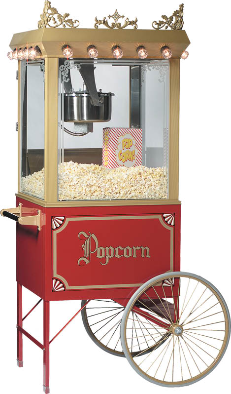 Popcorn Machines available from Carousel Party and Event in Hopatcong NJ