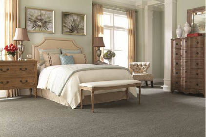 Carpet available for all rooms in your home like this bedroom