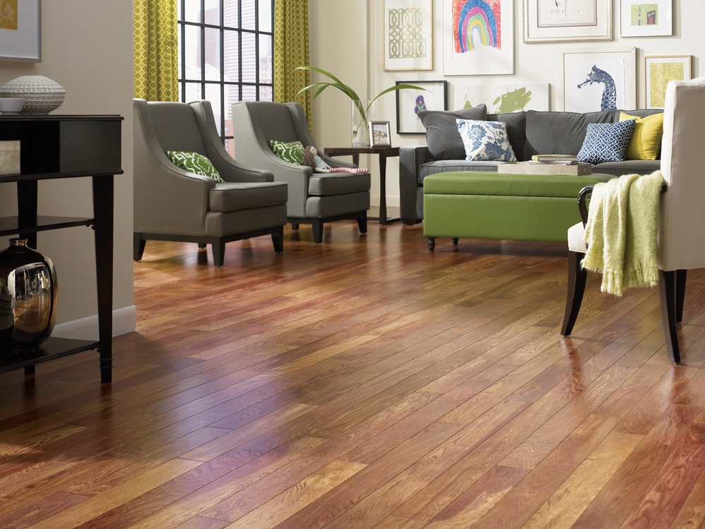 Improve your home's look with laminate wood flooring by The Carpet Guys