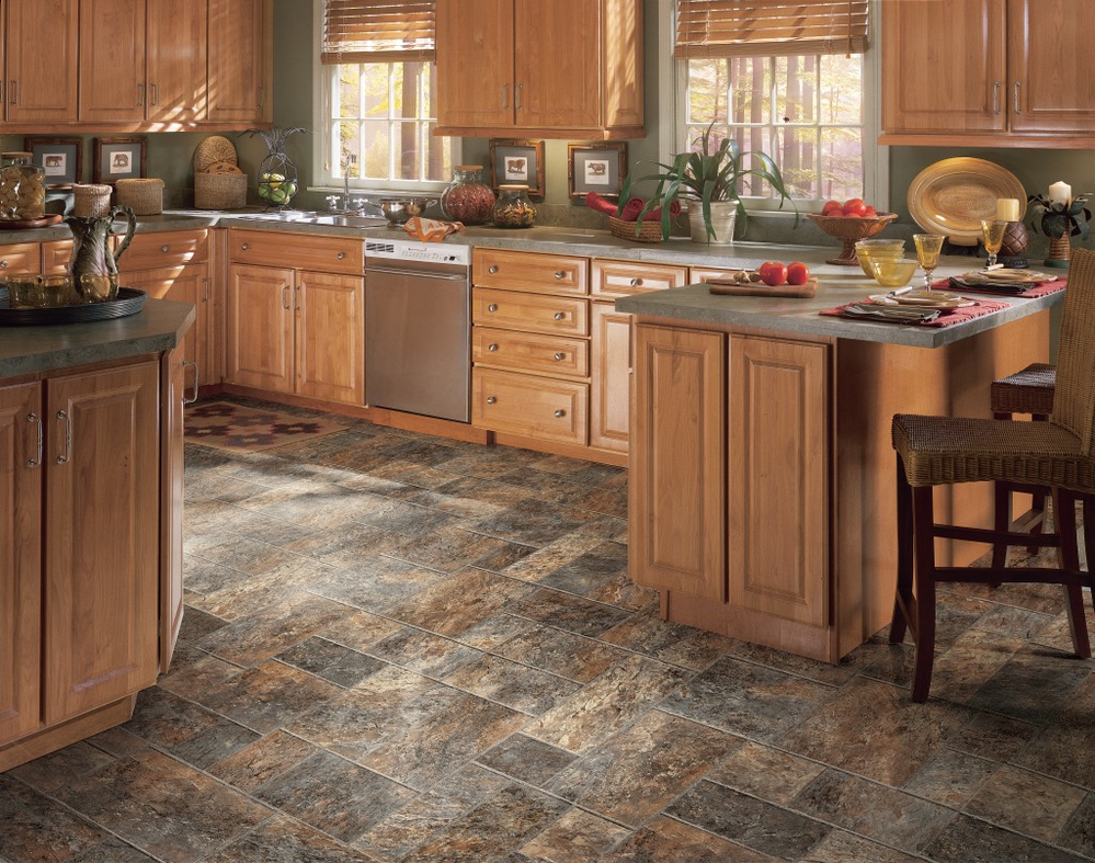 Vinyl flooring designs can greatly enhance the look of a room