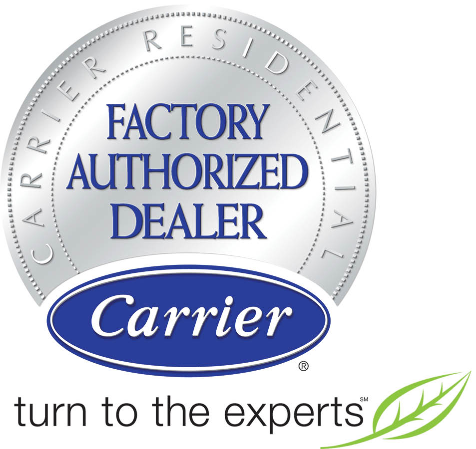 Edison Heating and Cooling of NJ is a Carrier Factory Authorized Dealer Seal Pic
