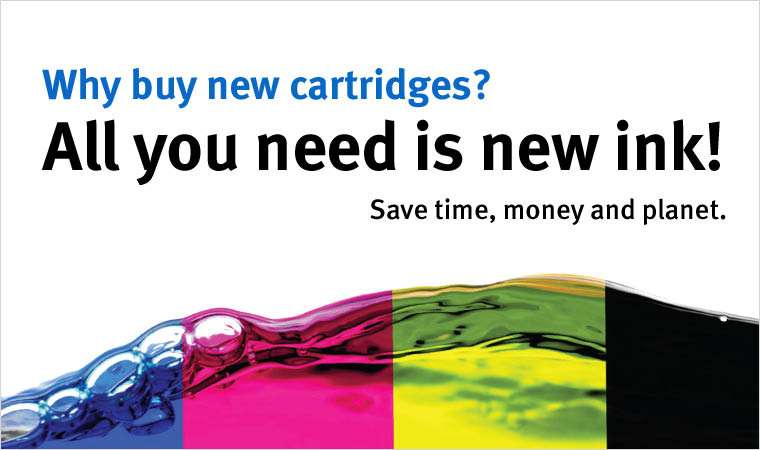 Cartridge World of Wauwatosa CMYK Ink Toner Cartridge colors