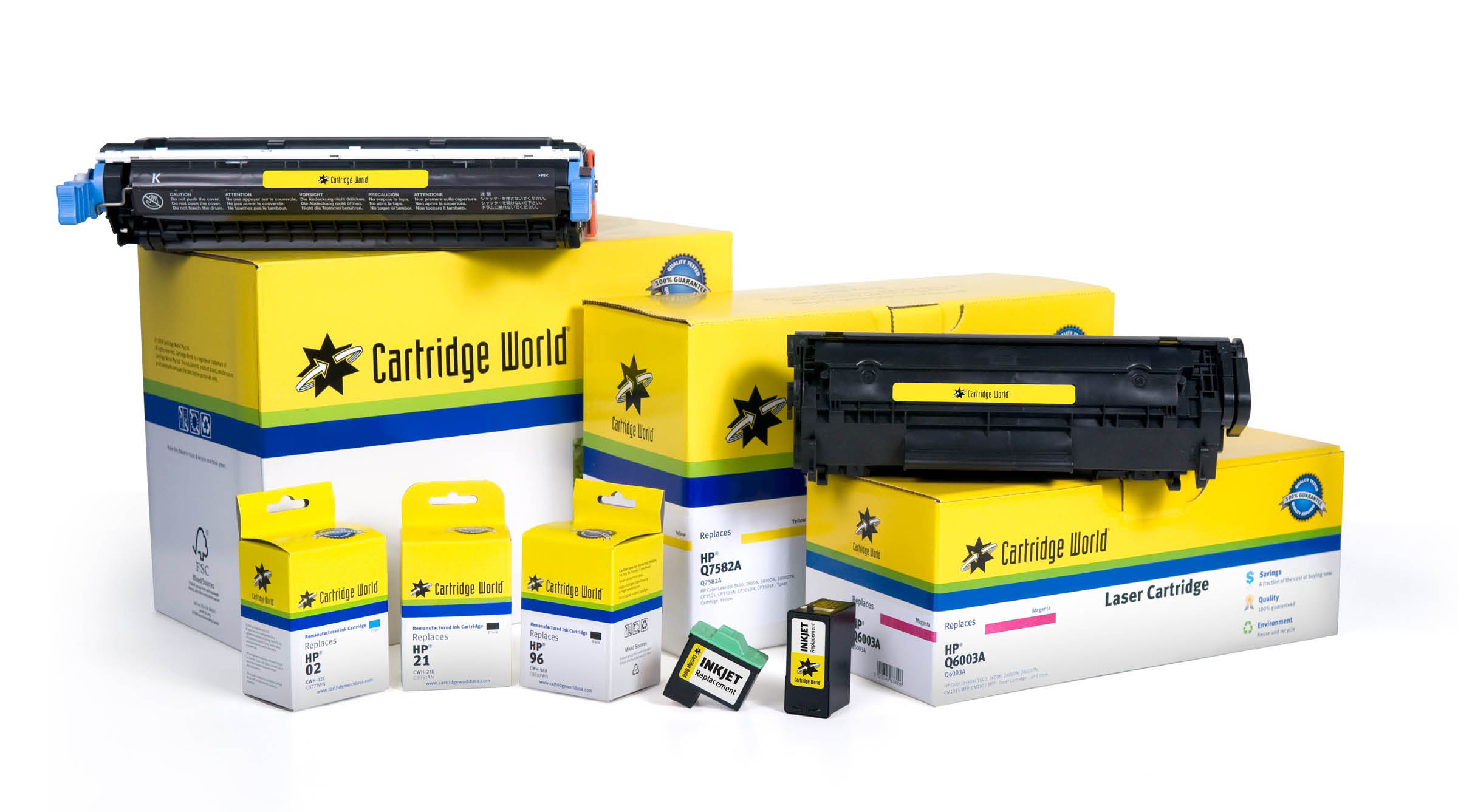 Cartridge World near West Allis CMYK Ink Toner home and Office solutions