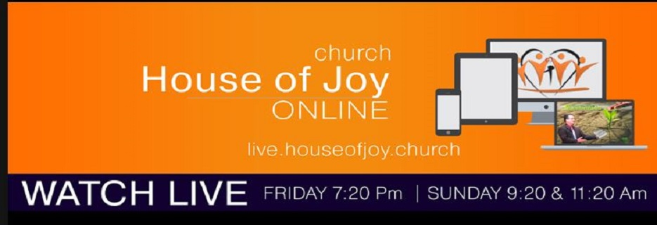 House of Joy Church in Rockford, IL banner