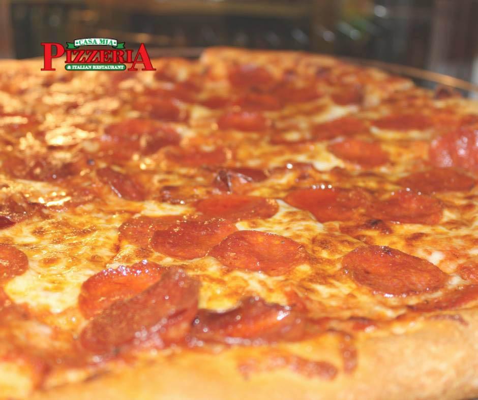 pepperoni pizza pie casa mia bethlehem pennsylvania