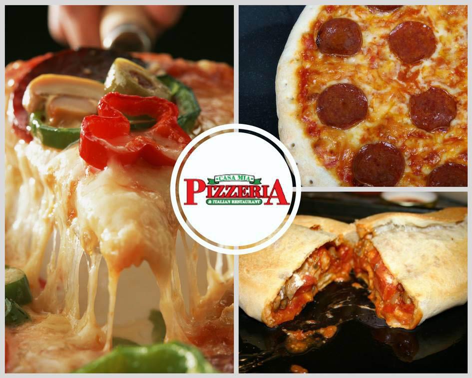 hot pizza & calzones casa mia bethlehem