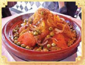 Moroccan, Mediterranean, chicken, lamb, veggies