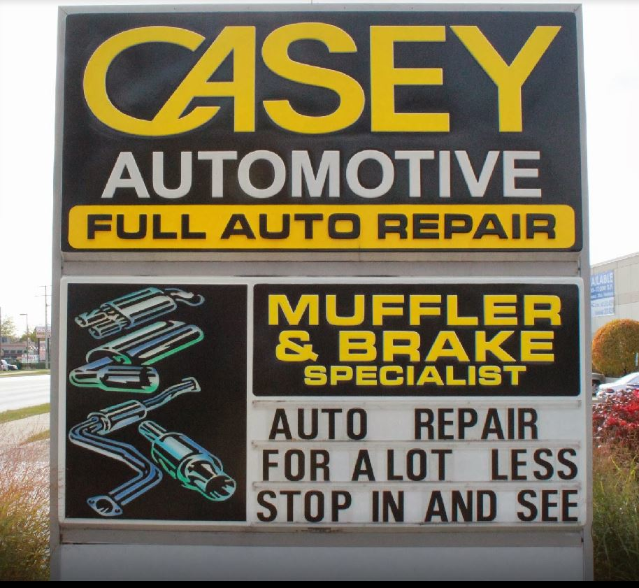 brake repair service, new tire installation by auto mechanic at Casey Automotive near Arlington Heights, IL