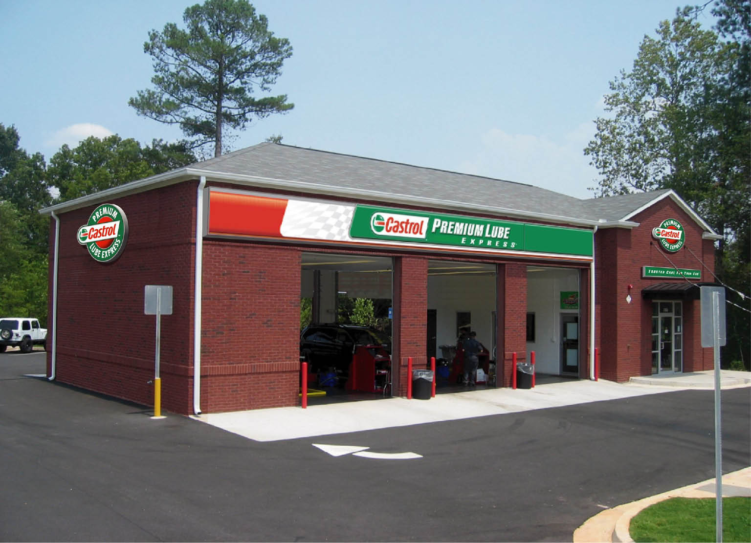 Oil Change Atlanta Castrol Premium Lube Express