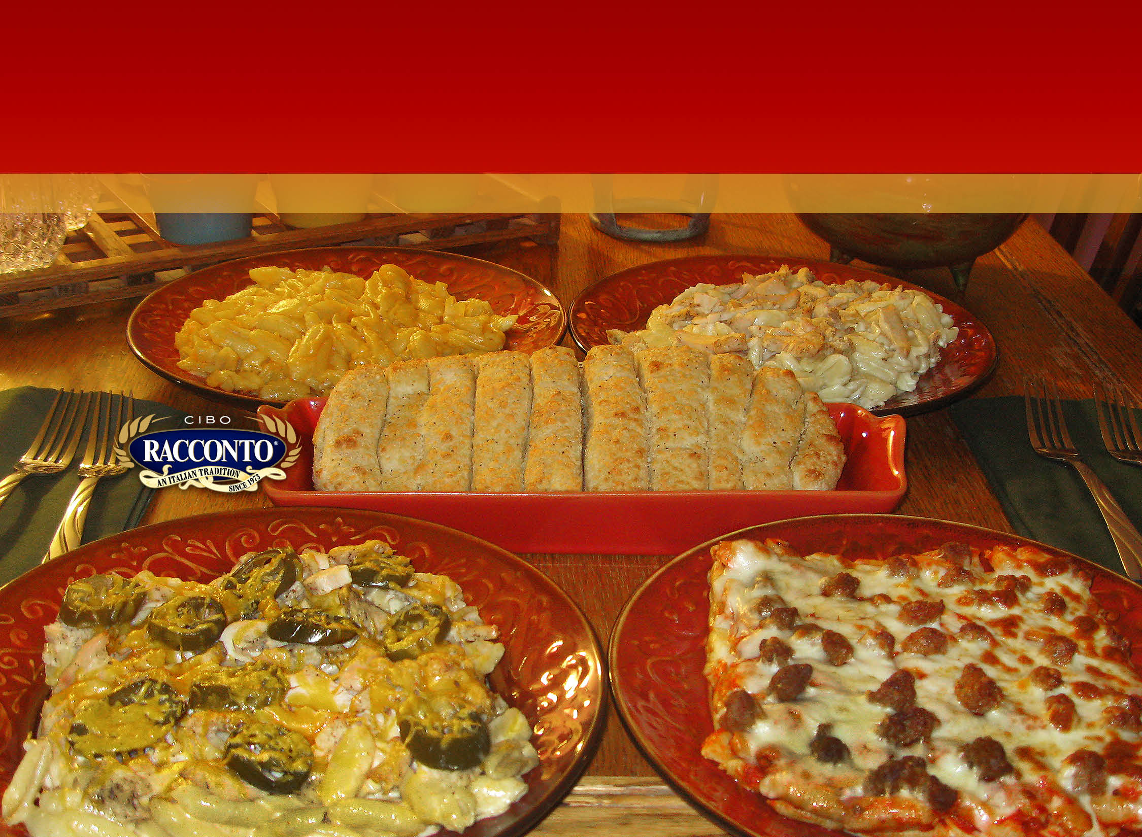 Our Des Moines, IA restaurant offers Italian menu items like pizza and chicken alfredo