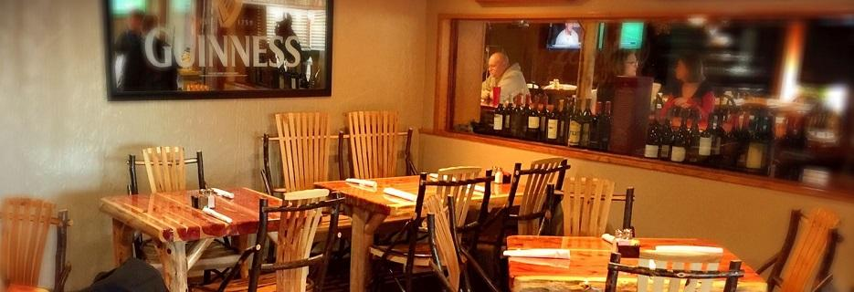 photo of interior of Celtic Knot Gaelic Tavern in Leonard, MI
