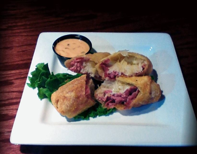 photo of reuben sandwich from The Celtic Knot Gaelic Tavern in Leonard, MI