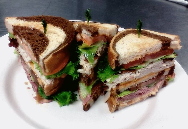 photo of sandwich from The Celtic Knot Gaelic Tavern in Leonard, MI