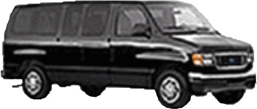 Vans available for large parties coming to and from the airports in New Jersey & New York, corporate and business functions.