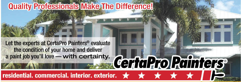 Certapro Painters in Englewood, FL Banner Ad for Professional quality interior painting in SW FL