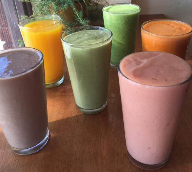 Chaco Canyon Organic Cafe in Seattle, WA - Queen Anne location - organic smoothies and fresh juices